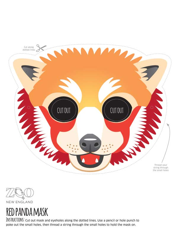 It is an image of Printable Fox Mask intended for easy
