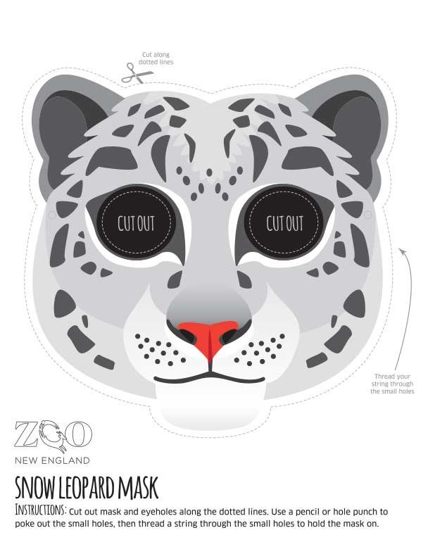 Zoo Masks | Zoo New England