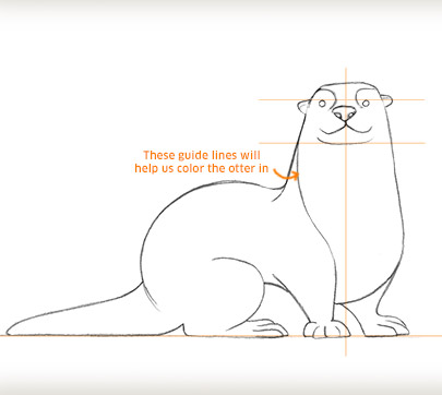 Draw An Otter
