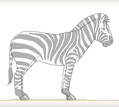 Draw A Zebra