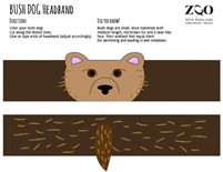 bush dog headband