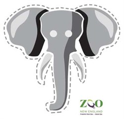 It's just a picture of Trust Elephant Mask Printable