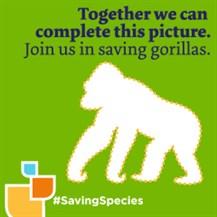 gorilla maske für kinder